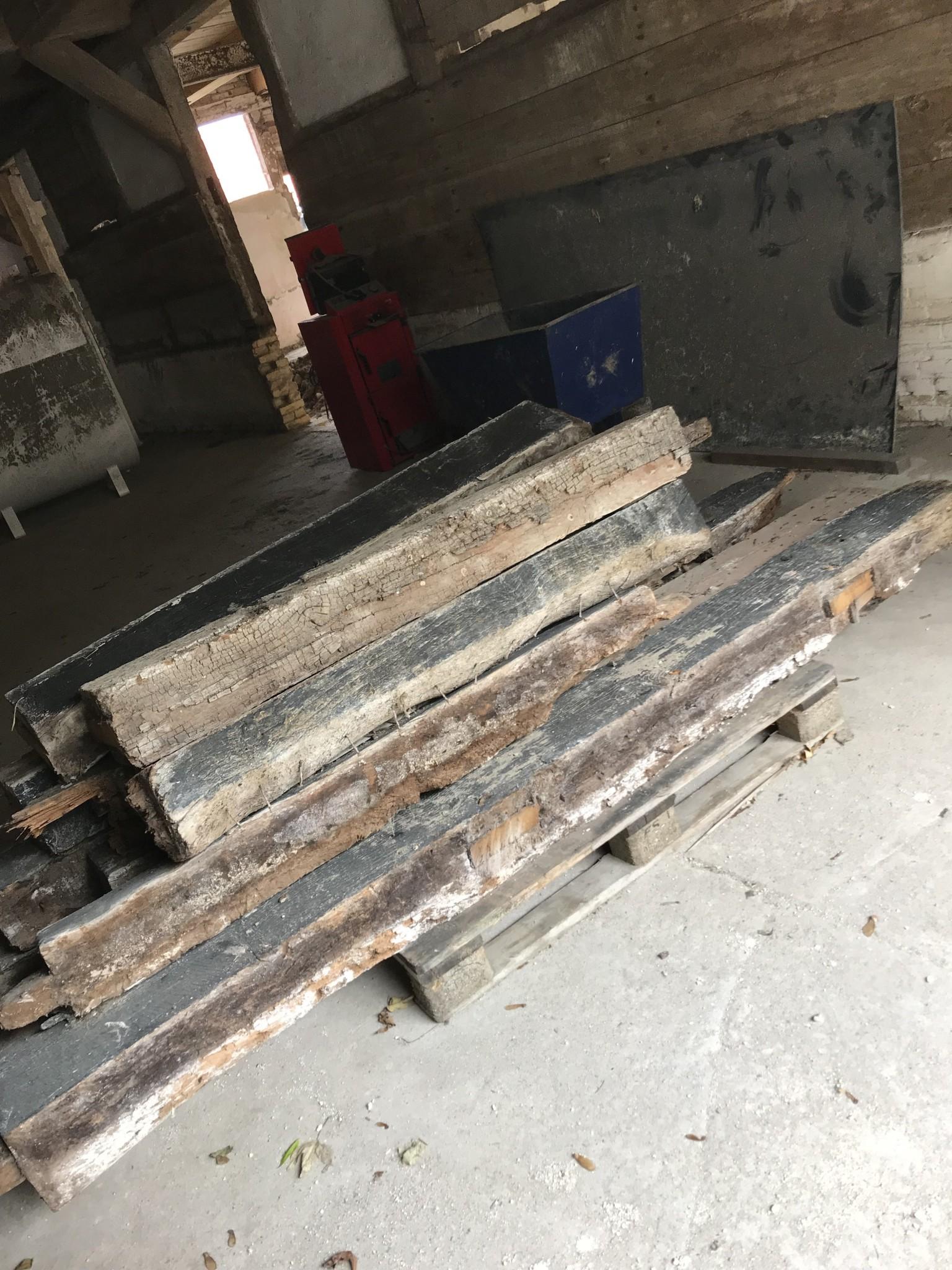 Bindingsværk, gammelt