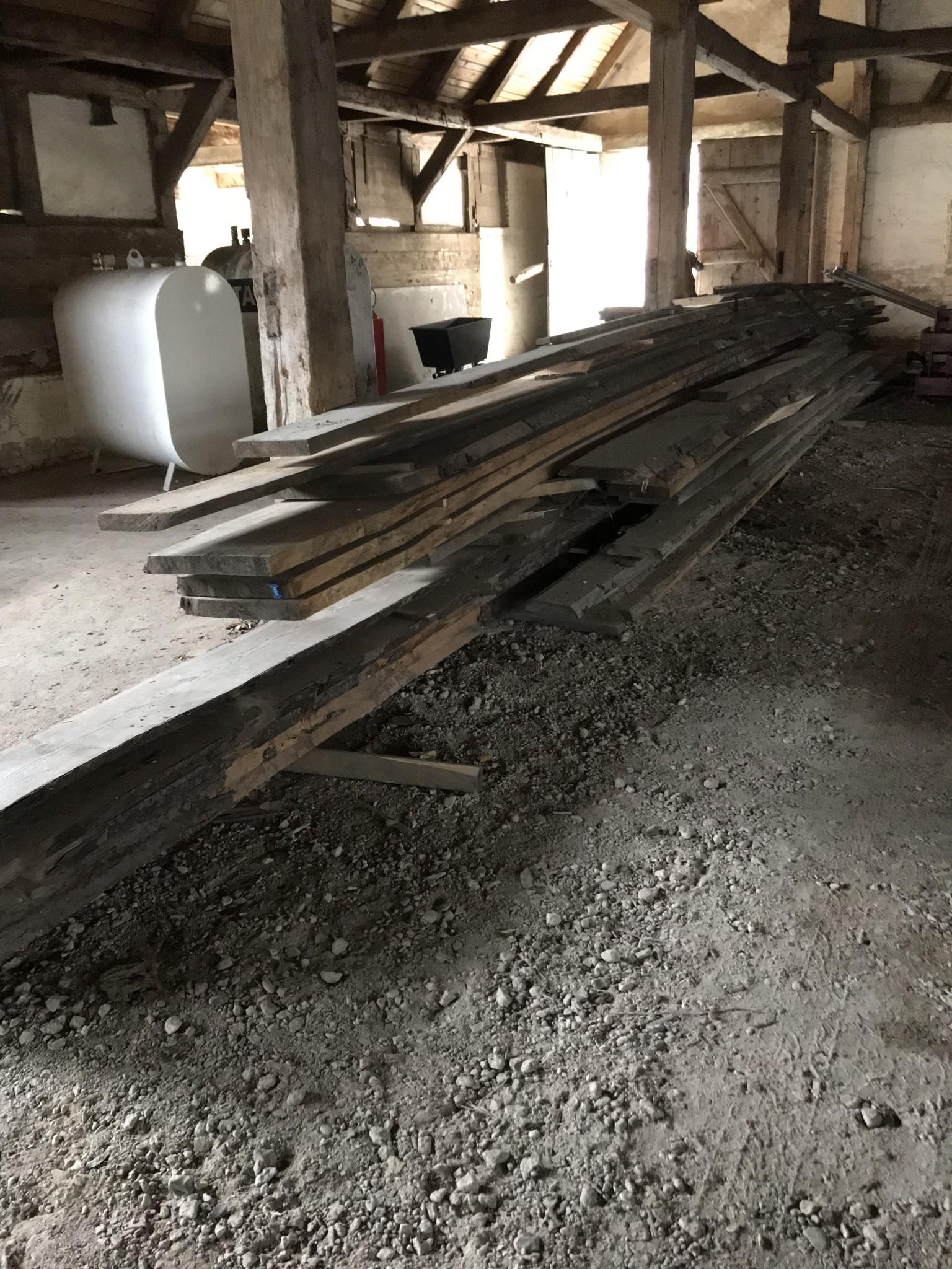Douglas planker