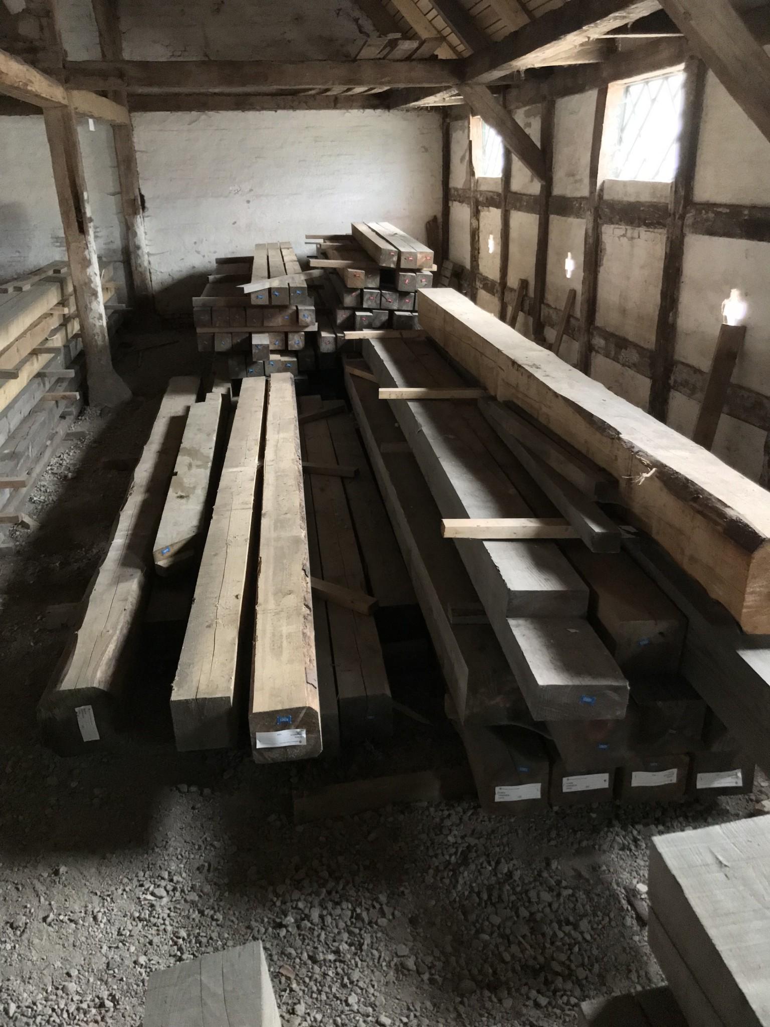 Rødgran tømmer i store dimensioner 2